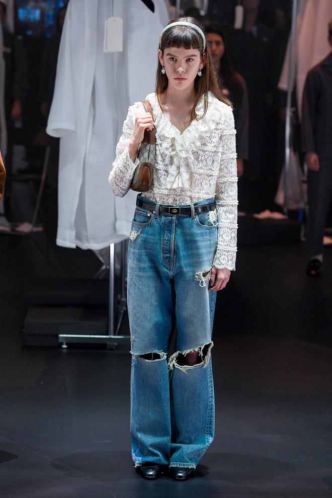Мастера Gucci дошивали одежду прямо на показе (фото 12.2)