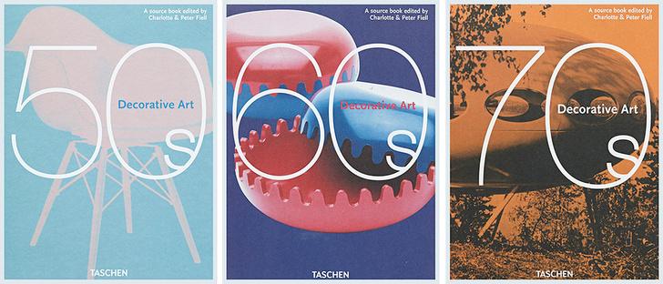 Decorative Art 50s, 60s, 70s. Charlotte & Peter Fiell. Taschen, 2013.