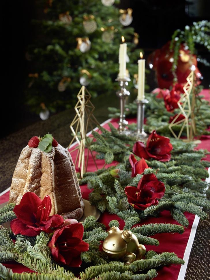 Семейные ценности: рождественская сервировка от Promemoria (фото 0)