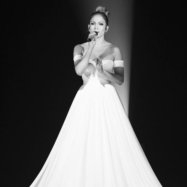 Дженнифер Лопес на шоу «American idol»