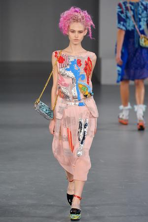 Показы мод Louise Gray Весна-лето 2012 | Подиум на ELLE - Подиум - фото 1932