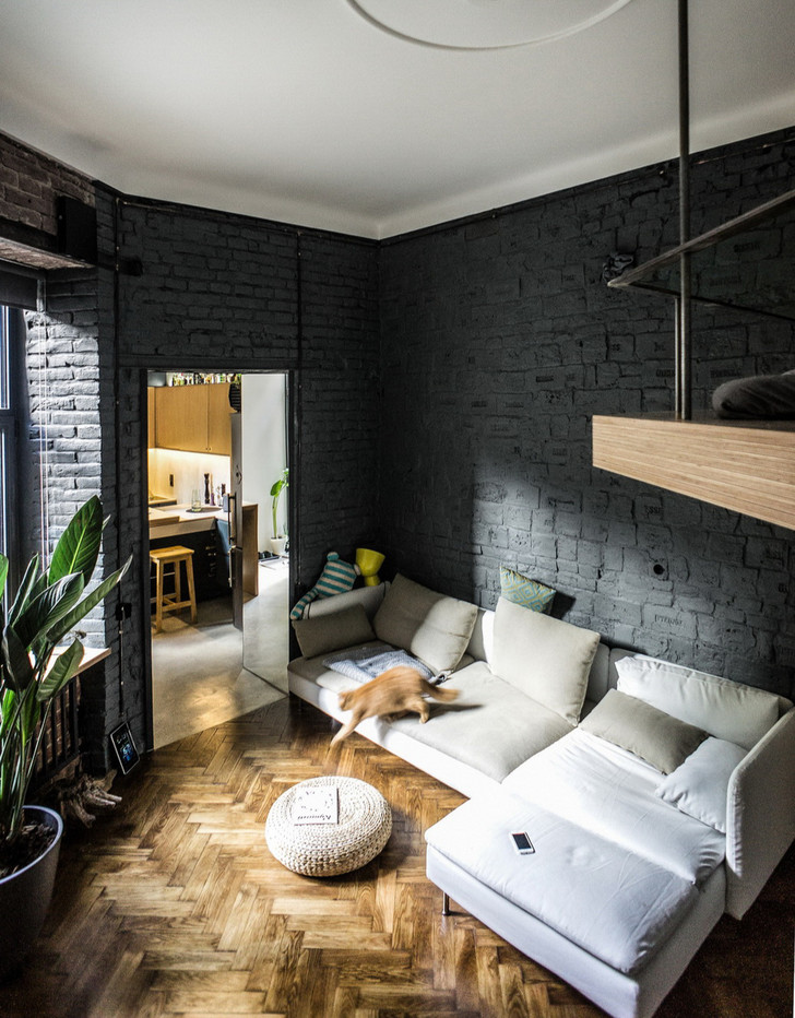 Маленькая квартира 35 м² во Львове (фото 0)