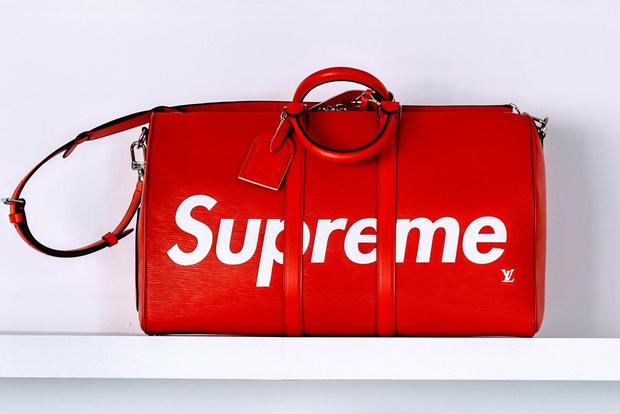 Louis Vuitton x Supreme фото