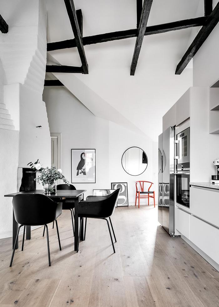 Под крышей дома: квартира модного блогера в Стокгольме (фото 2)