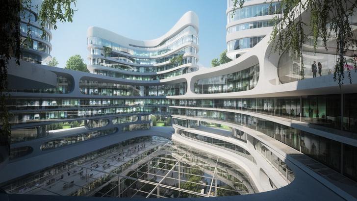 Главные проекты Zaha Hadid Architects в России (фото 7)