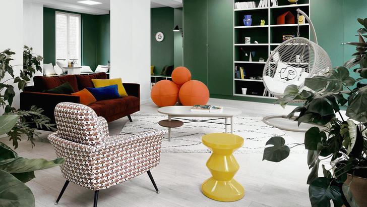 Уютный офис Google в Париже (фото 0)