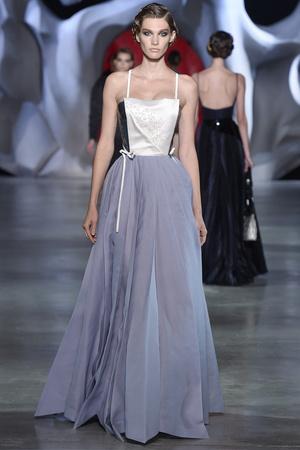 Показ Ulyana Sergeenko коллекции сезона Осень-зима 2014-2015 года haute couture - www.elle.ru - Подиум - фото 584984