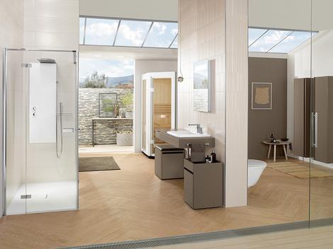 Сауна для ванной комнаты от Villeroy & Boch | галерея [1] фото [1]
