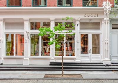 Рианна, Джаред Лето, Сальма Хайек и другие на открытии бутика Gucci в Нью-Йорке (галерея 1, фото 0)