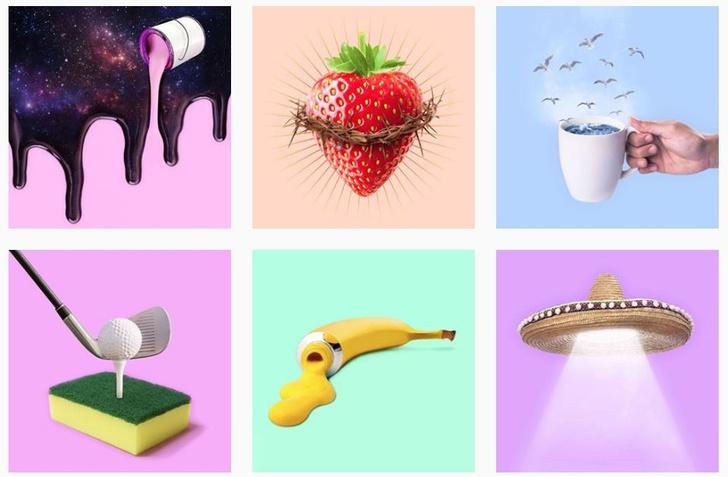 Инстаграм недели: сюрреализм Пола Фуэнтеса (фото 20)