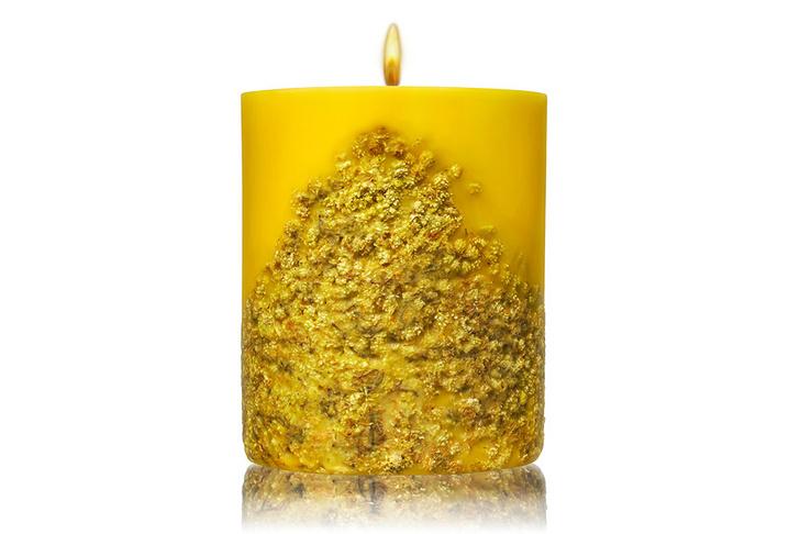Свеча с ароматом мимозы, Acqua di Parma, ТД «ЦУМ», 6190 руб.