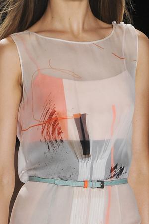 Показ Carolina Herrera коллекции сезона Весна-лето 2013 года Prêt-à-porter - www.elle.ru - Подиум - фото 420259