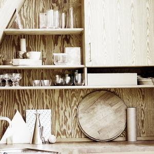 Модные кухни из фанеры: 10 удачных решений (фото 4)