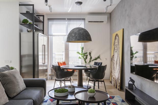 Минималистичная квартира 72 м² в Санкт-Петербурге (фото 3)