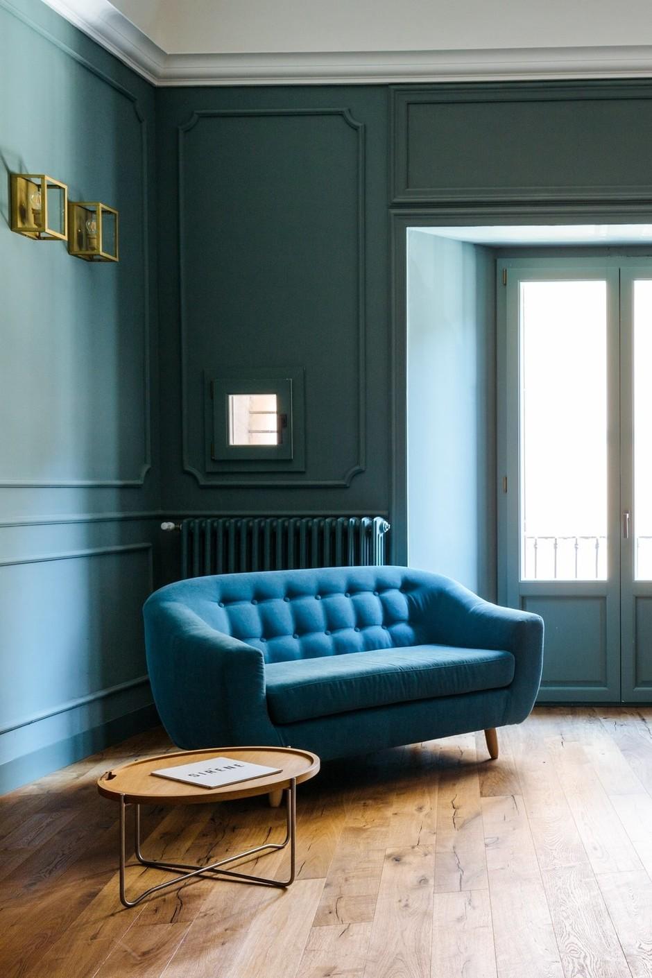 Цвет в доме: 35 ярких интерьеров (галерея 0, фото 1)