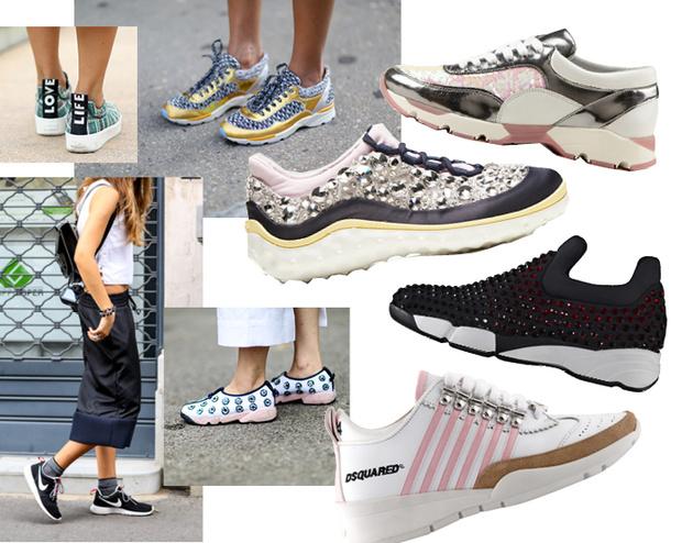 Модные аксессуары весна лето 2015 кроссовки