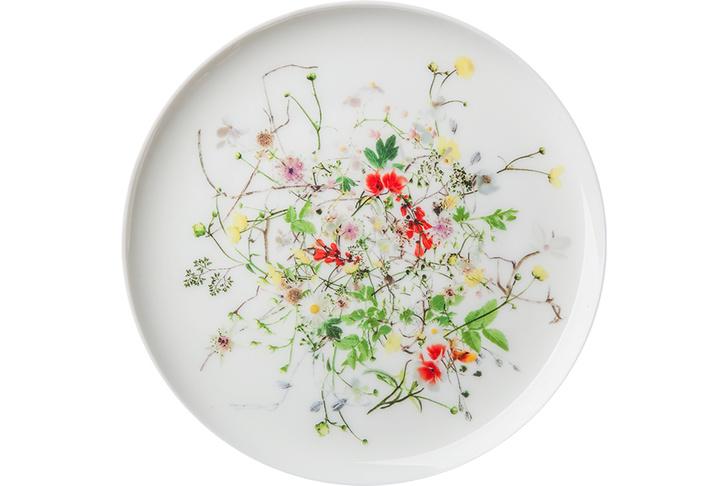 Десертная тарелка «Дикие цветы»