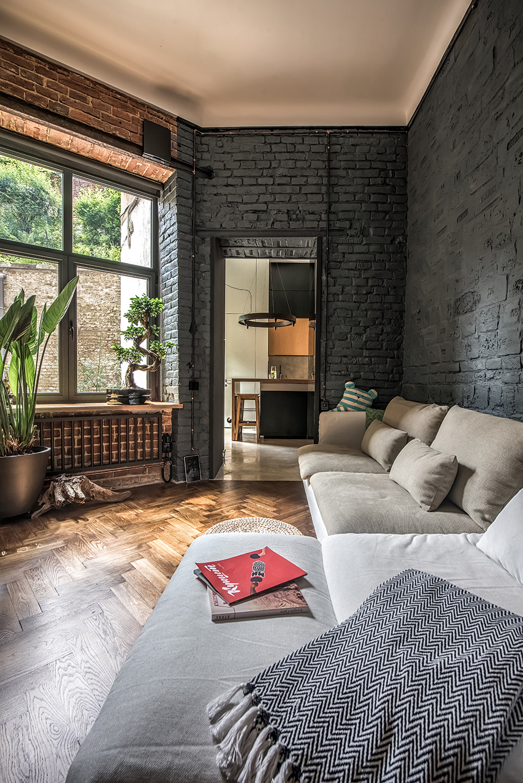 10 интерьеров в индустриальном стиле (галерея 0, фото 1)