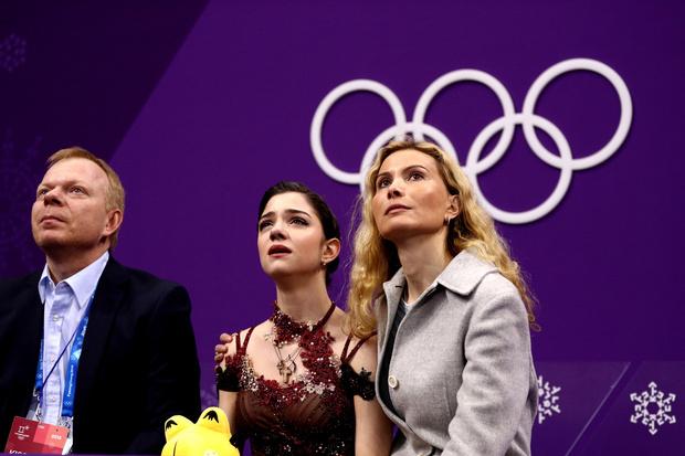 СМИ: фигуристка Евгения Медведева уходит от тренера (фото 1)