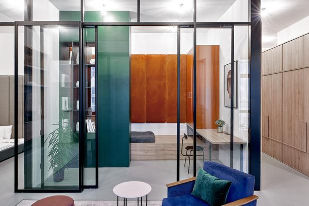 Квартира 99 м²: проект Леры Бруминой (фото 4)