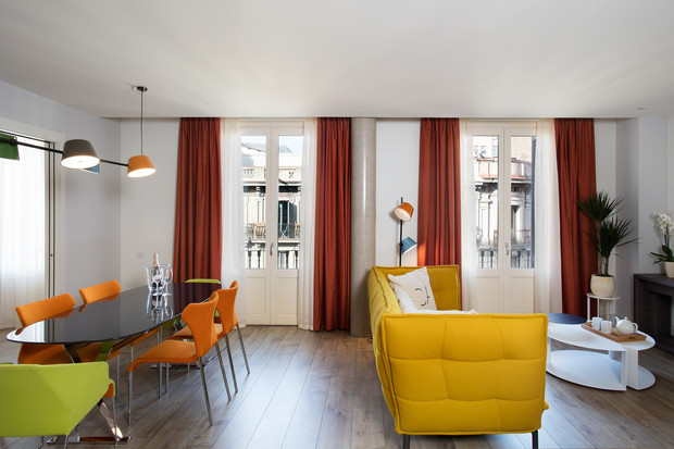 Апартаменты 87 кв. м в Барселоне фото [7]
