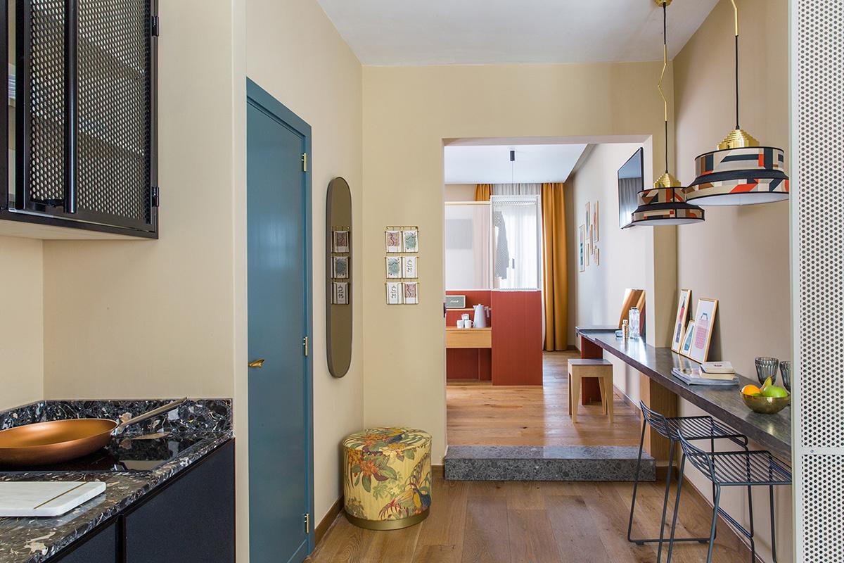 Комната в Риме: уютный бутик-отель в духе кондоминиума (галерея 15, фото 5)