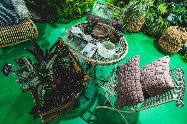 The Green Life: «зеленая» инсталляция Сабин Марселис для Rinascente (фото 5)