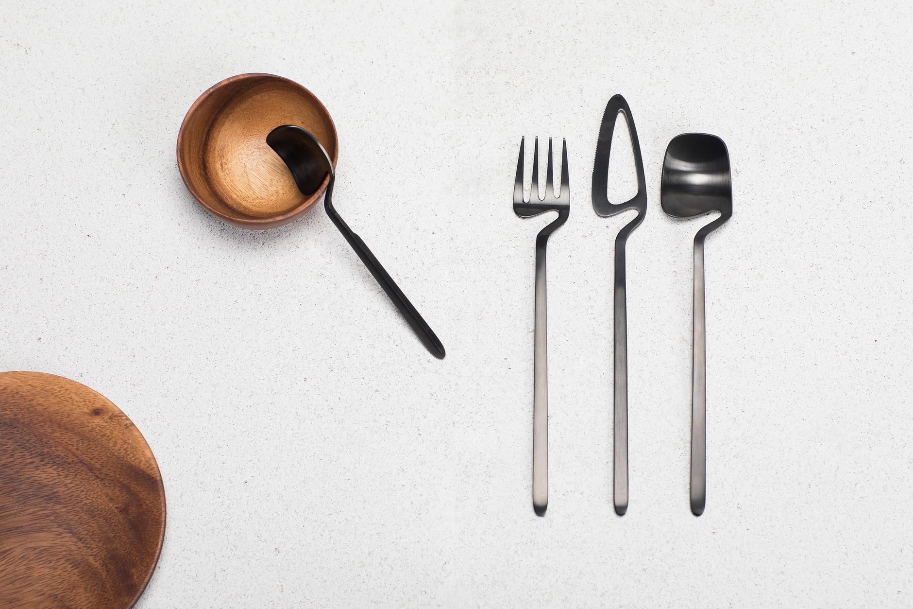 Гни свою линию: столовые приборы от студии Nendo (галерея 4, фото 0)