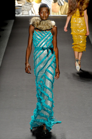 Показы мод Tracy Reese Осень-зима 2011-2012 | Подиум на ELLE - Подиум - фото 2364