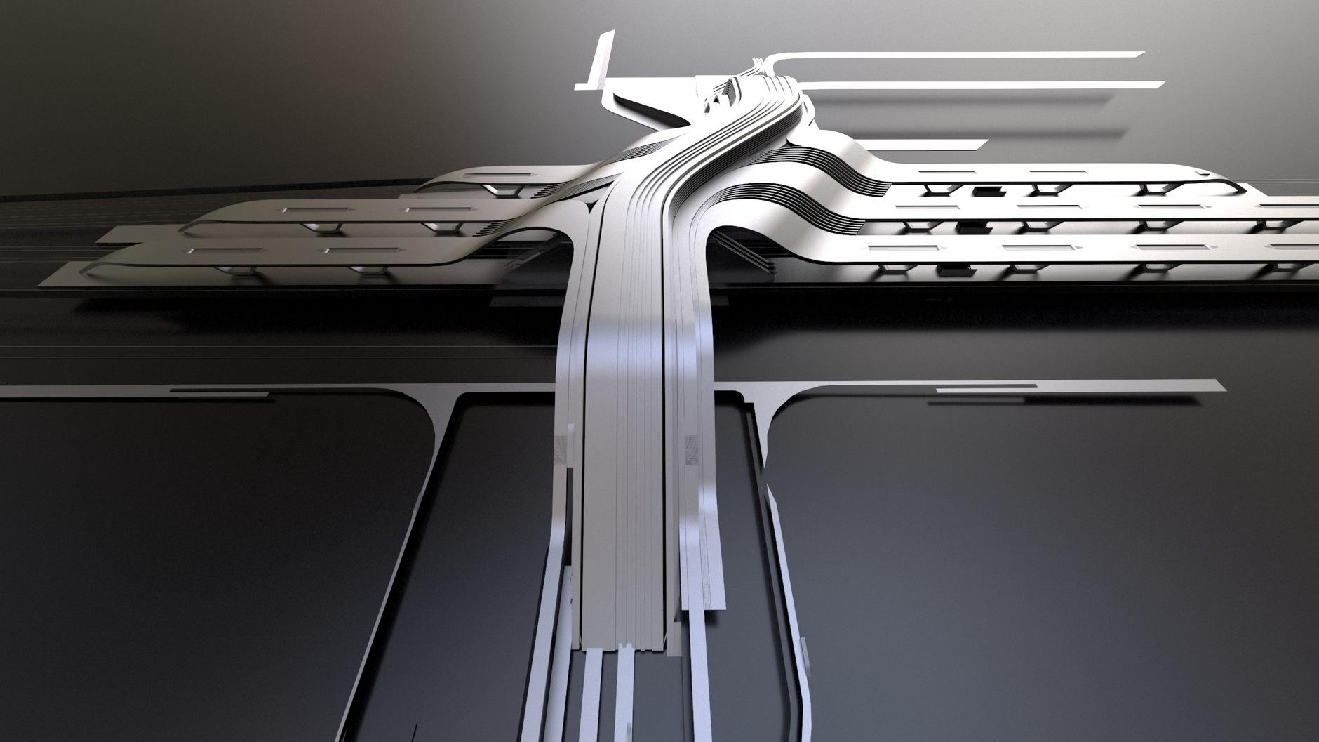 Zaha Hadid Architects построит в Таллинне мост-вокзал (галерея 8, фото 2)