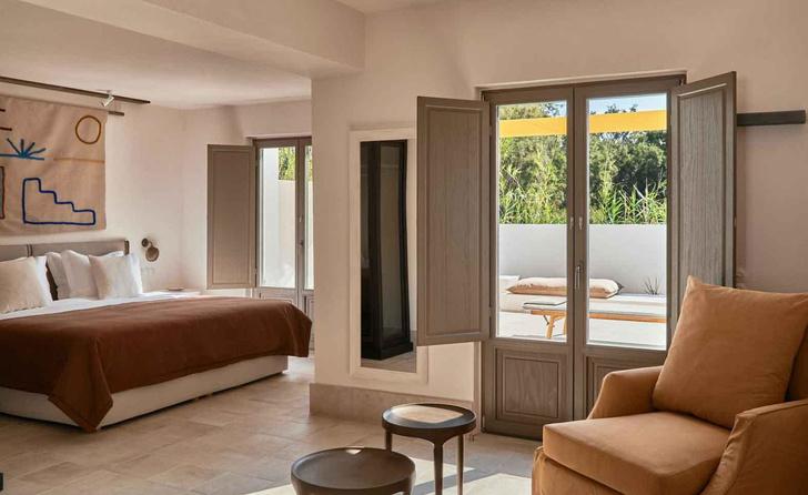 Parilio: новый дизайнерский отель на острове Парос (фото 6)