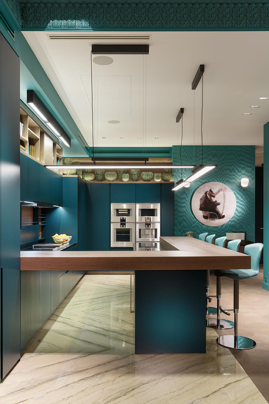 Синий цвет в интерьере: 30 проектов (галерея 0, фото 1)
