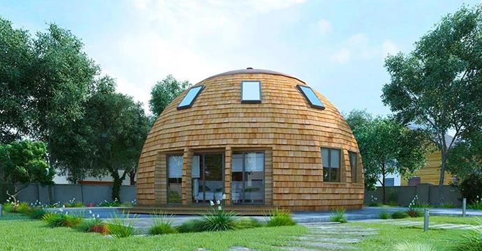 Купольные дома от компании «Скайдом»