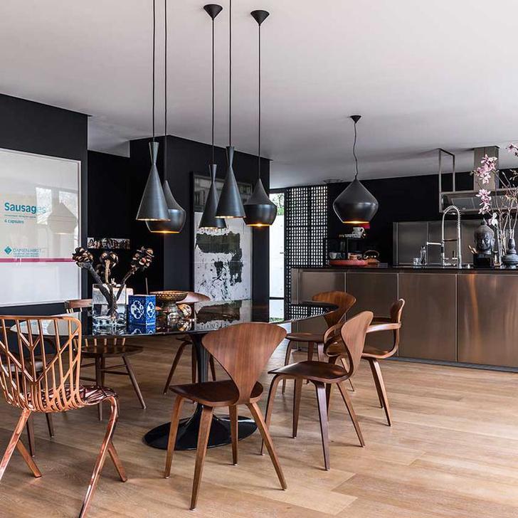 Черный цвет на кухне: 8 приемов (фото 12)