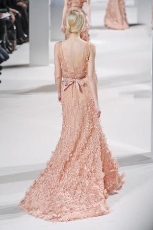 Показ Elie Saab коллекции сезона Весна-лето 2011 года Haute couture - www.elle.ru - Подиум - фото 216817
