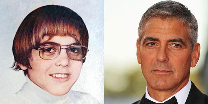 Джордж Клуни Звезды голливуда в детстве фото