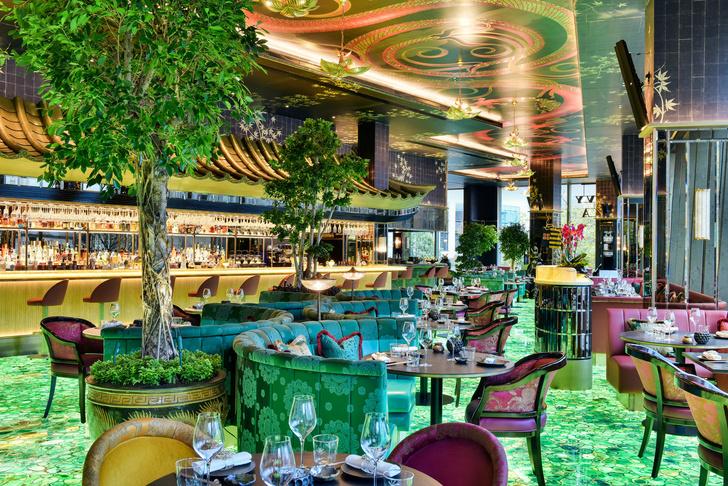 Ресторан The Ivy Asia в центре Лондона (фото 4)