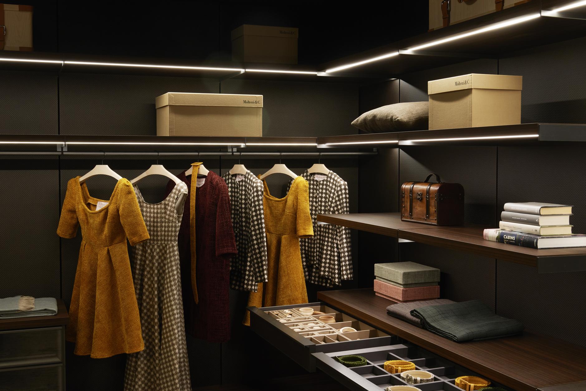 Модный гардероб: проект Марты Ферри для Molteni&C (галерея 4, фото 0)