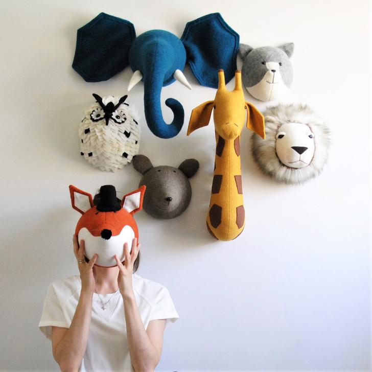 лавкач маски звери