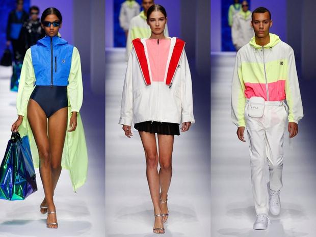 Чем удивил спортивный бренд Fila на Неделе моды в Милане? (фото 4)
