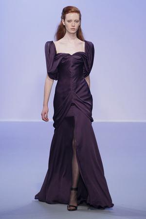 Показ Christophe Josse коллекции сезона Осень-зима 2010-2011 года Haute couture - www.elle.ru - Подиум - фото 167189