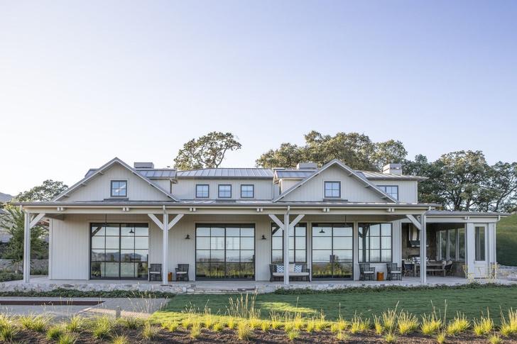 Современное ранчо в долине Сонома по проекту Wade Design Architects (фото 0)