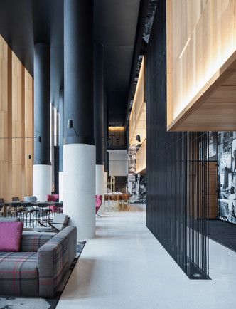 Montreal's Hotel Monville by ACDF Architecture features strict palette (фото 3.2)