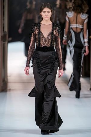 Показ Yanina Couture коллекции сезона Весна-лето  2017 года Haute couture - www.elle.ru - Подиум - фото 616424