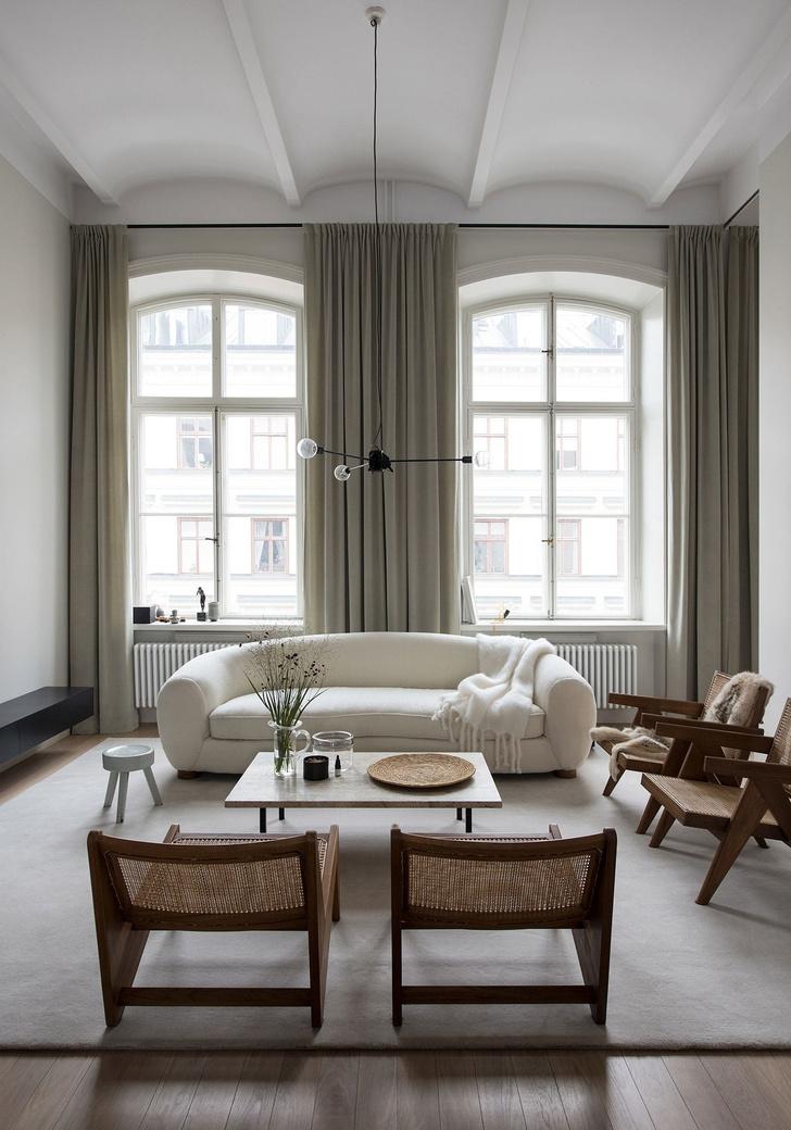 Апартаменты в здании бывшего института в Стокгольме (фото 2)