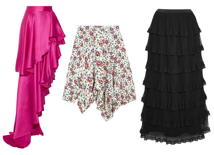 Модные юбки весна 2017