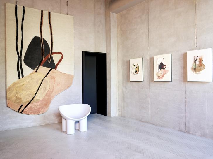 Рисуем каракули: коллекция ковров Фэй Тугуд для cc-tapis (фото 3)