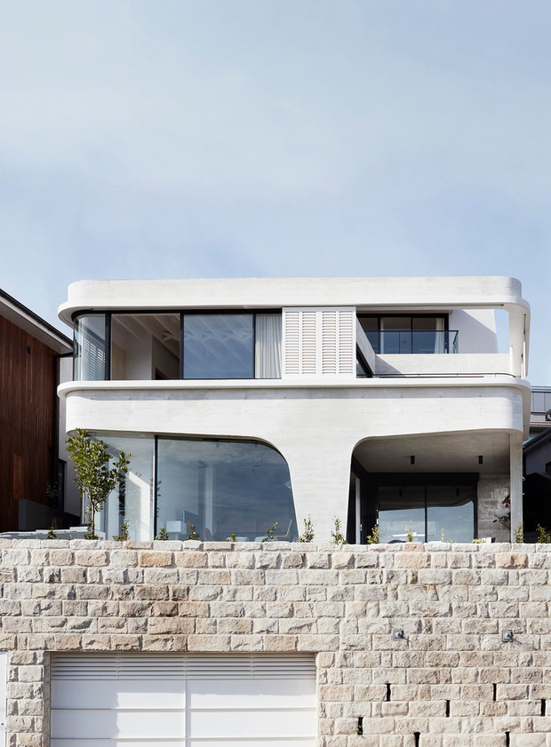 Дом из бетона и стали на побережье Австралии (ФОТО 2)