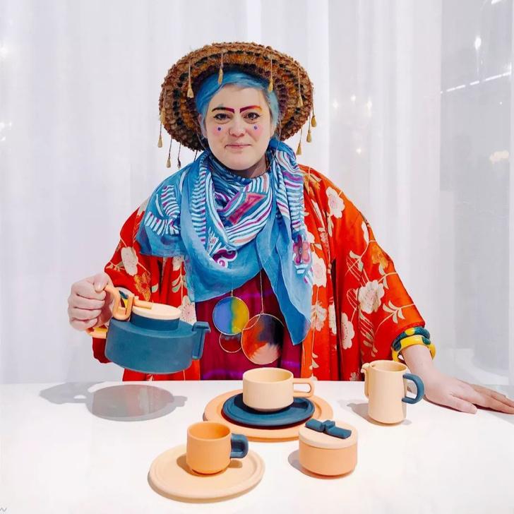 Чайный сервиз Бетан Лоры Вуд для Rosenthal (фото 0)