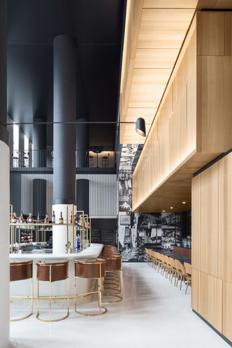 Montreal's Hotel Monville by ACDF Architecture features strict palette (фото 5.1)
